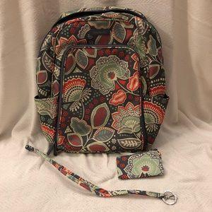 🌱Vera Bradley🌱 Laptop Backpack Set